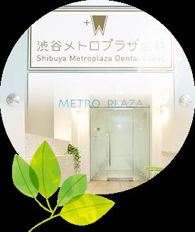 東京メトロ渋谷駅B1出口直結渋谷メトロプラザ内の歯科医院